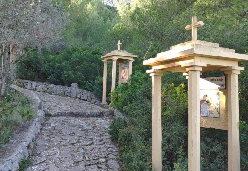 camino de los alrededores de la ermita del pare pere