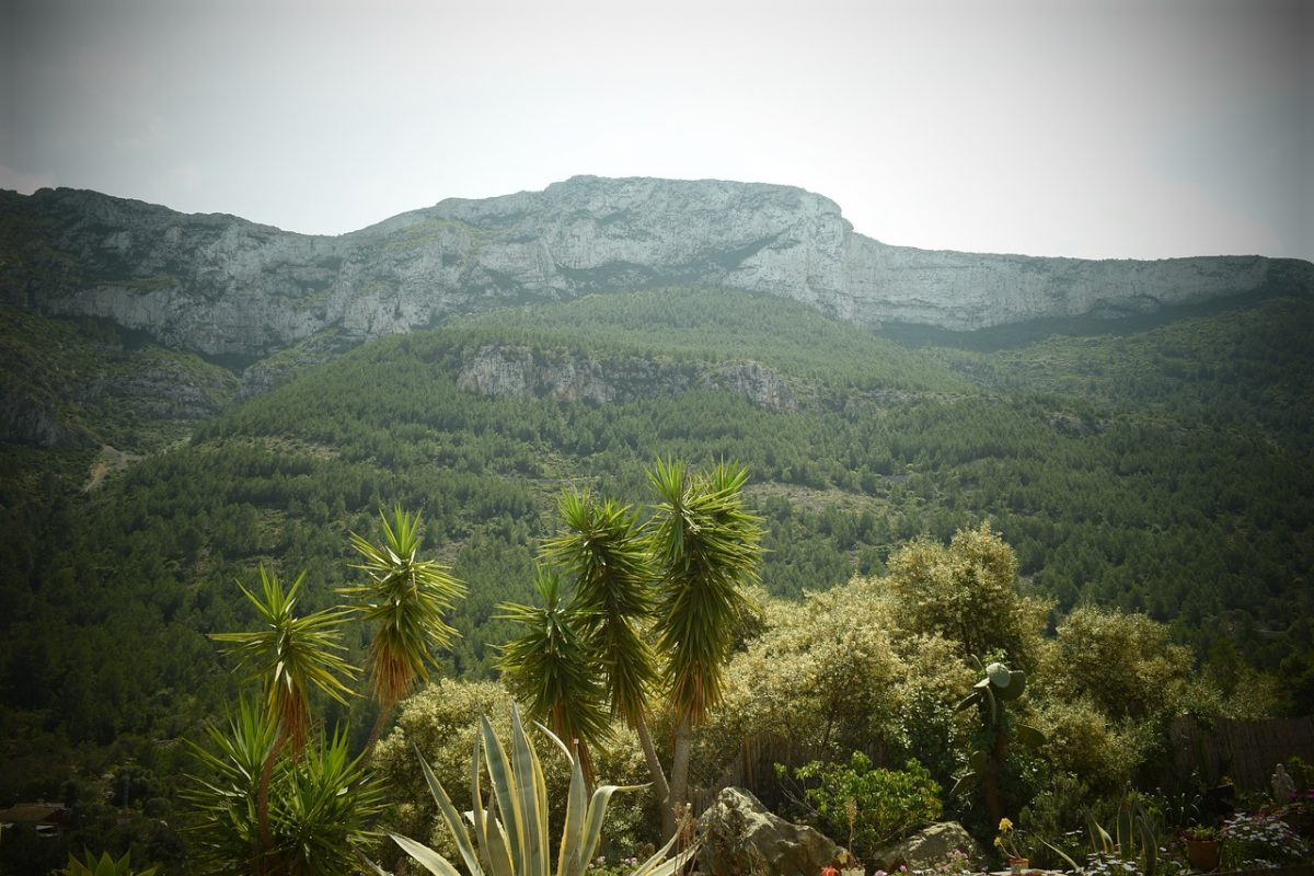 parque natural el montgó denia