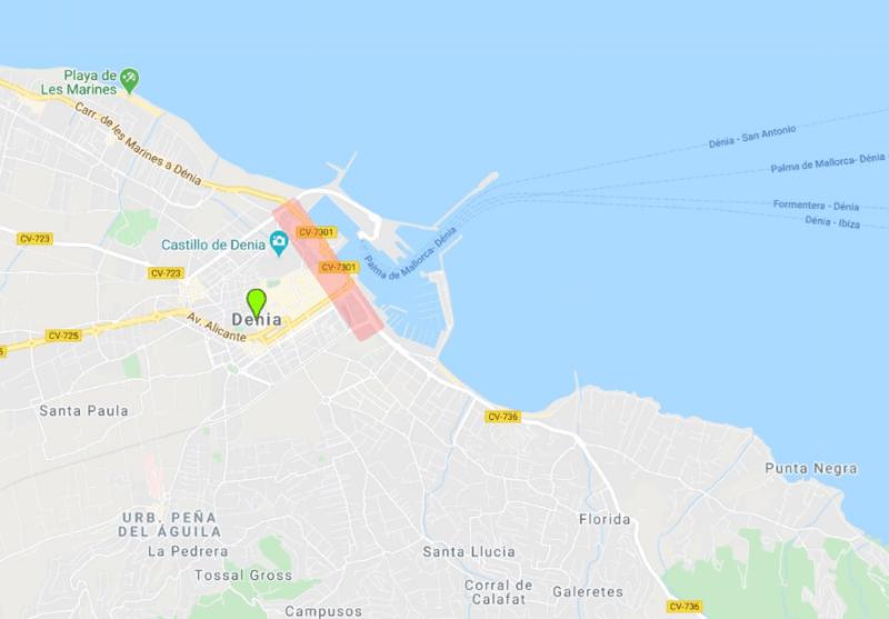 Zona puerto