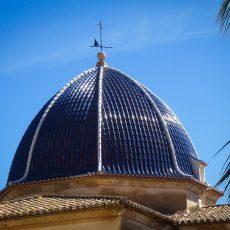 cupula iglesia denia